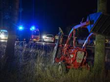 Twee gewonden bij botsing op net gerenoveerde N35 bij Haarle