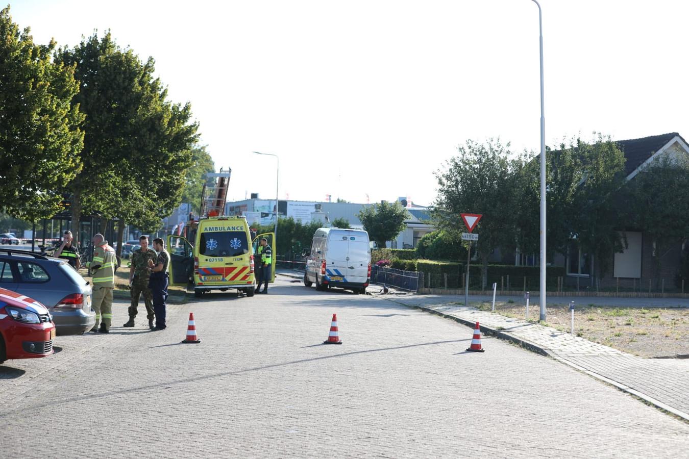 De EOD is aanwezig bij de 'verdachte situatie' in Huissen.