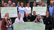 Organisatie Franka's bierloop  verdeelde 5000 euro aan 4  verenigingen