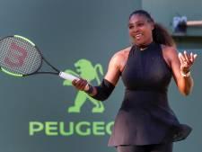 Serena Williams in twee sets onderuit tegen Osaka