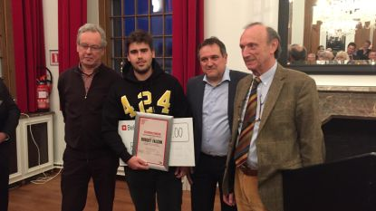 Dj Robert Falcon (22) krijgt Cultuurprijs stad Lier