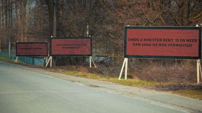 "FEITENCHECK: ""Sinds u minister bent, is er meer dan 2.000 ha bos vernietigd"""