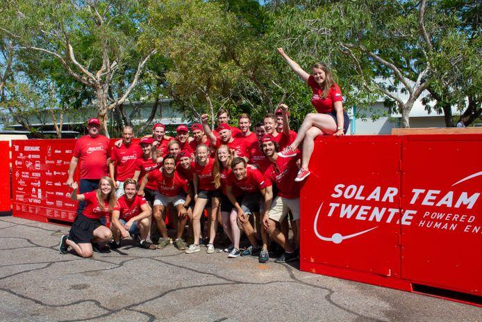 De RED E van Solar Team Twente is goed aangekomen in Australië