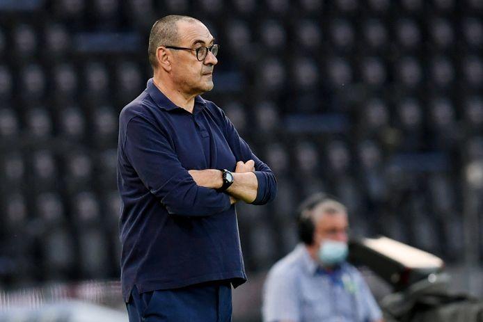 Maurizio Sarri paie l'élimination du club en Ligue des champions