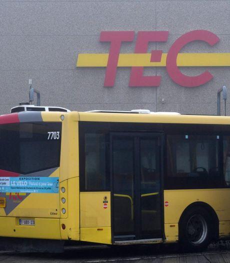 """Une nouvelle grève a perturbé le trafic du TEC Charleroi: """"C'est parti des travailleurs"""""""