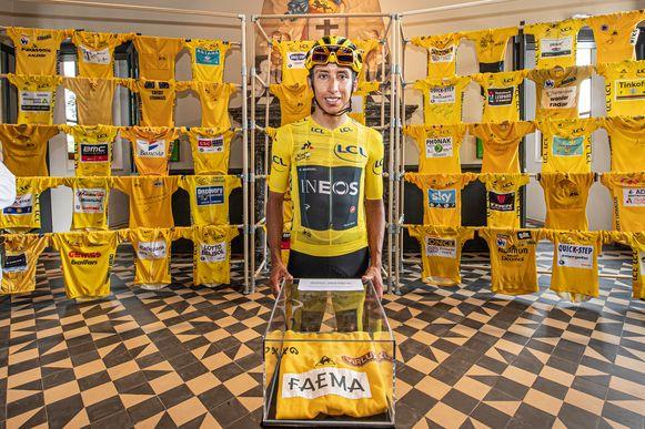 Ook het bezoek van Tourwinnaar Egan Bernal zal KOERS niet snel vergeten.
