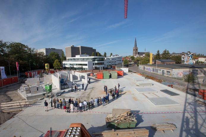 Start bouw van 3 woontorens van Parc Fontaine in Eindhoven
