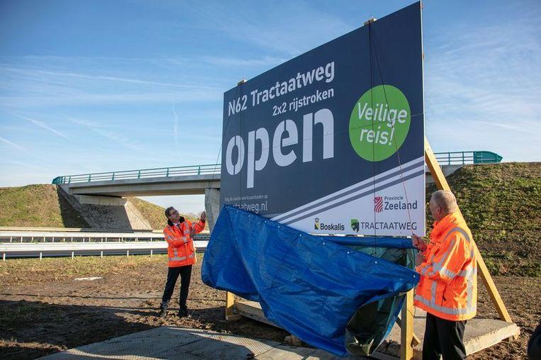 De verdubbelde Tractaatweg werd op 31 oktober officieel geopend en is op 'enkele details na' volledig afgewerkt.