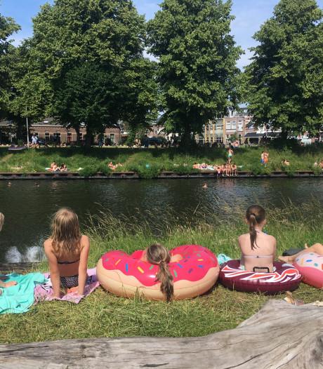 Zwemmen in het Merwedekanaal: mag dat eigenlijk wel?