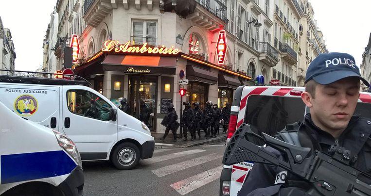 Huiszoekingen in Parijs. Beeld afp