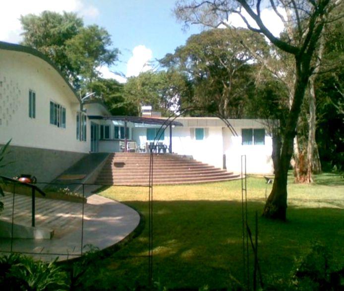 De villa van de Nederlander Tob Cohen in Kitisuru, een residentiële wijk in de heuvels aan de noordwestrand van Nairobi.