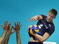 Verlies volleyballers zonder gevolgen