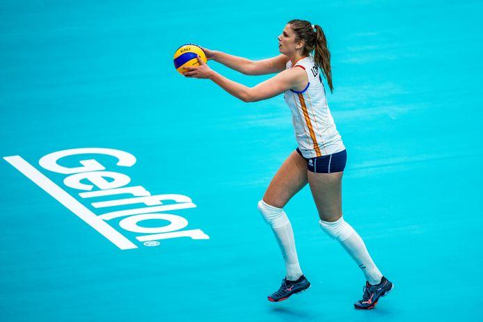 Juliët Lohuis uit Oldenzaal is na het WK in Japan een belangrijke pion geworden in het Nederlandse team.