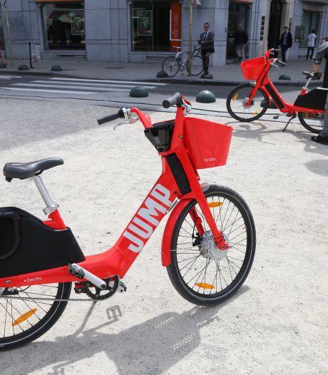 Les vélos Jump de retour à Bruxelles