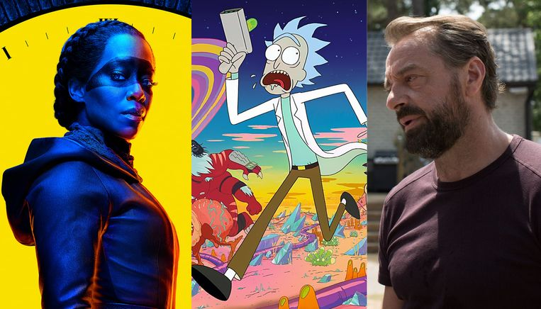 Watchmen , Rick and Morty, Undercover.