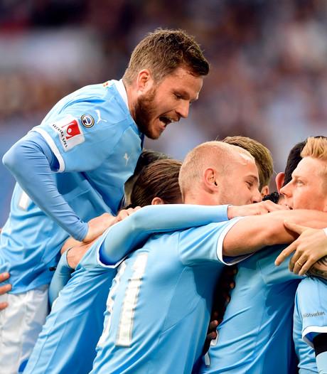 Malmö opnieuw kampioen van Zweden