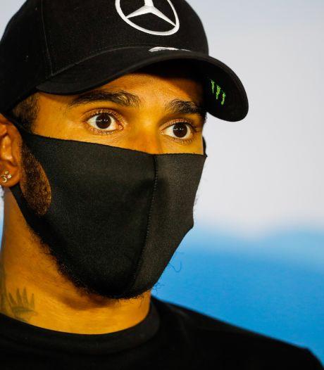 """""""C'est totalement de ma faute"""": le mea culpa de Lewis Hamilton après le partage d'une vidéo polémique"""