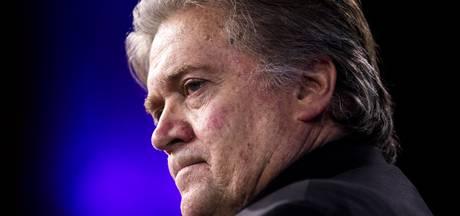 Trumps oud-strateeg Bannon gooit het op akkoordje met commissie Mueller