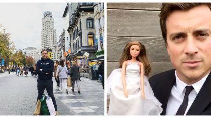 SHOWBITS. Shoppen met Bart De Wever en Niels Destadsbader in zijn trouwkostuum