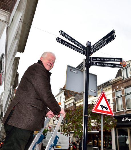 Belabberde bewegwijzering Goudse binnenstad: wel naar het Streekarchief, niet naar de Sint-Jan