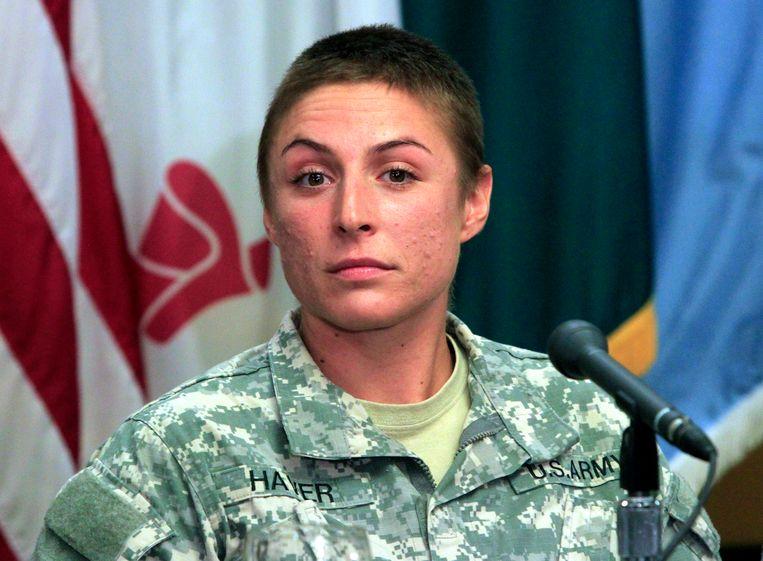 Shaye Haver studeert vandaag af aan de eliteschool van de Army Rangers.