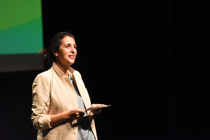 Zakia Khattabi, co-présidente d'Ecolo.