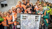 Gemeente stelt schoolroutekaart voor fietsers voor