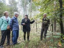 Nazaten Joodse onderduiker bezoeken plek verraden schuilplaats bij Eibergen