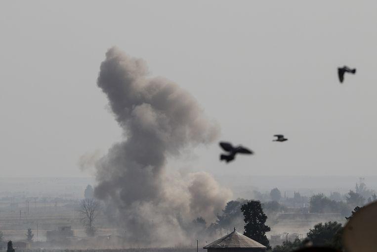 Het offensief in Syrië zorgt wellicht dat Nederlandse IS'ers terugkeren.  Beeld Getty Images