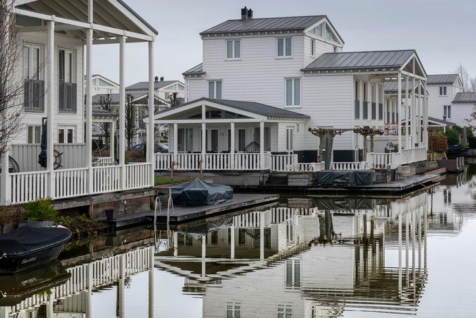 De Groote Wielen, verschillende typen woningen maken het aantrekkelijk om in de polder te wonen.