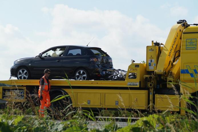 Beide betrokken voertuigen zijn opgehaald door een takelbedrijf.