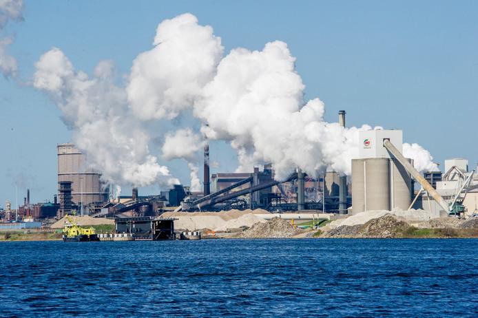 Staalbedrijf Tata Steel in IJmuiden.
