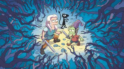 """Matt Groening maakt middeleeuwse sprookjesreeks: """"Het is heel bevrijdend om met je hoofd even niet in Amerika te zijn"""""""