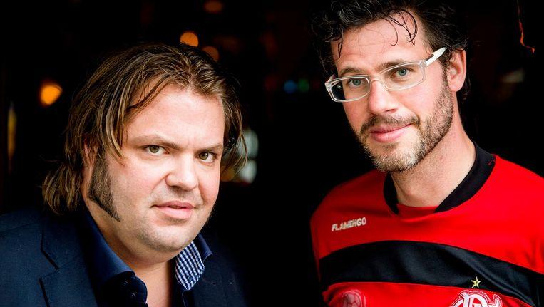 Frank Evenblij en Eric Dijkstra Beeld anp