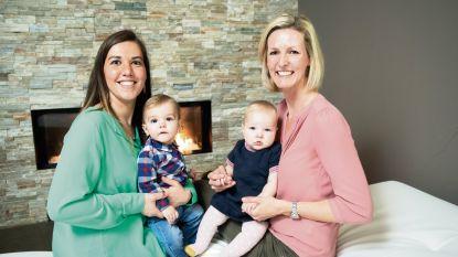 """'Blind Getrouwd'-mama's Evelien en Veerle zijn erg beschermend voor hun oogappels: """"We houden de touwtjes graag zelf in handen"""""""