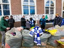 Fans van FC Den Bosch zamelen winterkleding in voor daklozen in: 'Als je geen centen hebt is alles welkom'