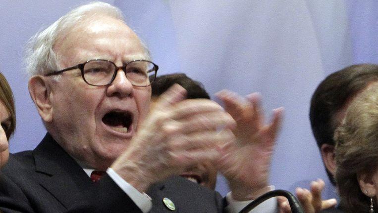 Miljardair Warren Buffett, naamgever van de 'Buffettbelasting', een heffing van 5 procent op het inkomen van de 'superrijken'. Beeld ap