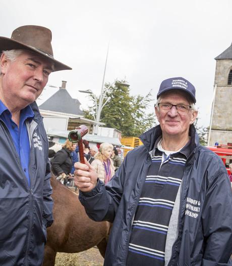 Willy Brandsma na 40 jaar voorzitter-af bij paardenmarkt Denekamp