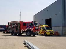 Man bekneld bij staalcontructiebedrijf in Esbeek