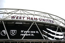 Oproep om racisme te melden bij West Ham United in de No Room for Racism-campagne.