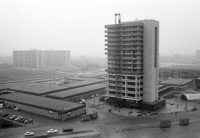 Winkelcentrum Keizerswaard in 1969. Nu een halve eeuw oud.