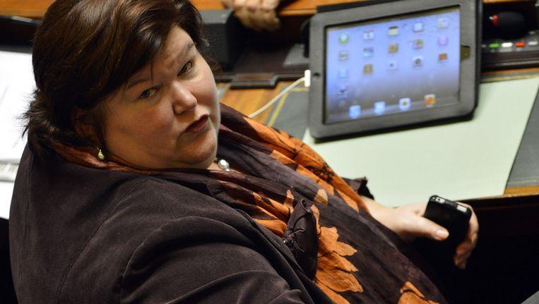 Staatssecretaris voor Asiel en Migratie Maggie De Block.
