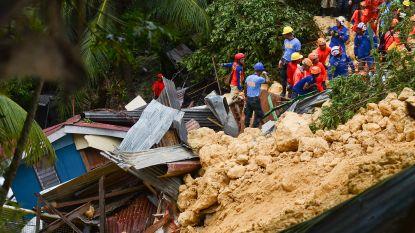 Zes doden en 64 vermisten bij aardverschuiving op toeristisch eiland Filipijnen