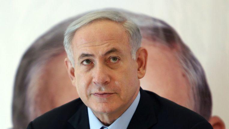 Israëlisch eerste minister Benjamin Netanyahu.