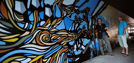 Muren te vochtig: project muurschildering fietstunnel Etten-Leur gestaakt