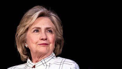 """Hillary Clinton """"onder druk van heel veel mensen"""" om opnieuw in de presidentsrace te stappen"""