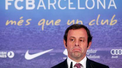 Voormalig Barcelona-voorzitter Rosell voor rechter voor witwaspraktijken