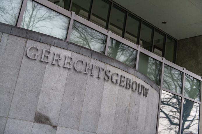 Het gerechtsgebouw in Groningen.
