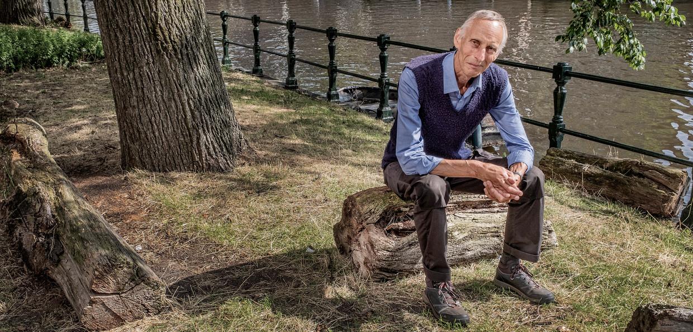 Filosoof en 'ecologische vluchteling' Ton Lemaire.