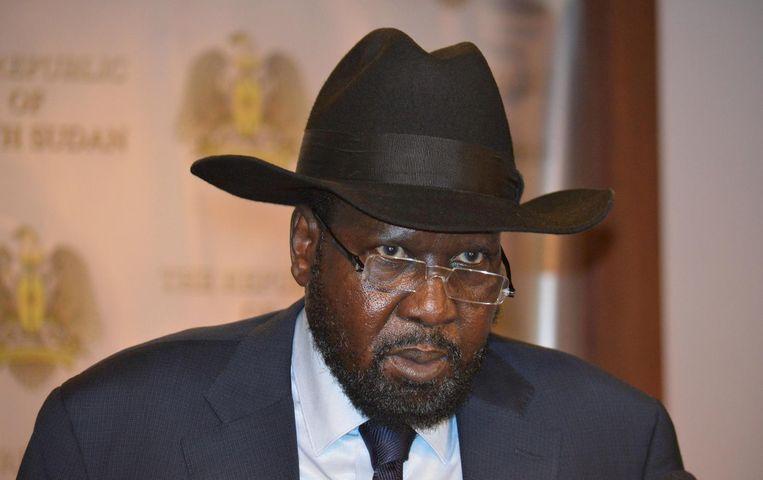 President Salva Kiir, oud-strijder en de leider van het Dinka-volk. Beeld Reuters